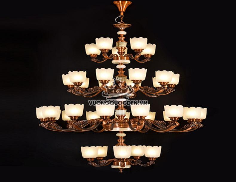 Top 3 mẫu đèn chùm thủy tinh cao cấp đang làm dậy sóng thị trường đèn trang trí