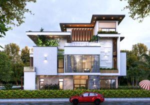các mẫu thiết kế biệt thự hiện đại