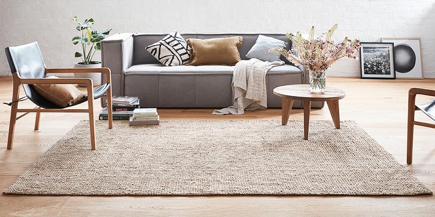 Đối với thảm trải sàn phòng khách